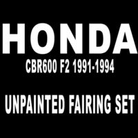 Honda CBR600 F2 1991-1994 Unpainted Fairing Set MFC1437