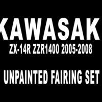 Kawasaki ZX-14R ZZR1400 2005-2008 Fairing Set MFC1446