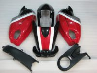 DUCATI 696 BLACK RED WHITE